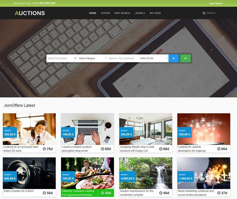 Joomla-Offers-Template-Comdev